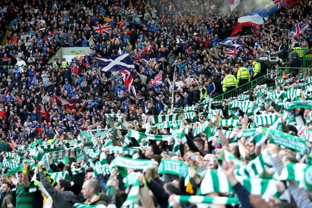 Rangers and Celtic fans will be hoping to earn the bragging rights at the weekend