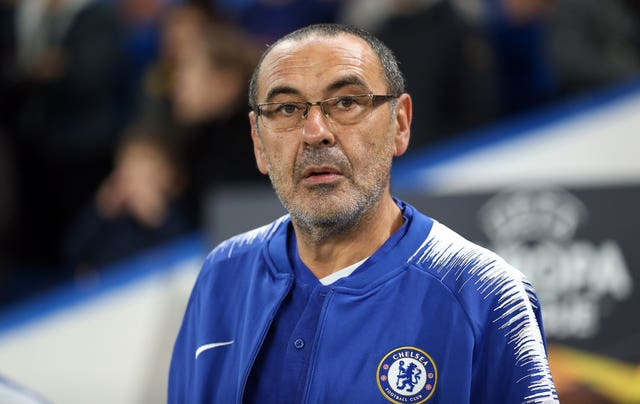 Chelsea manager Maurizio Sarri help smooth relations