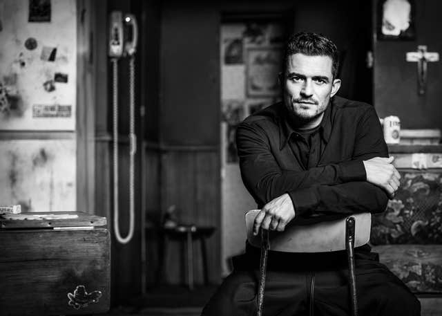 Zoe Law's portrait of actor Orlando Bloom