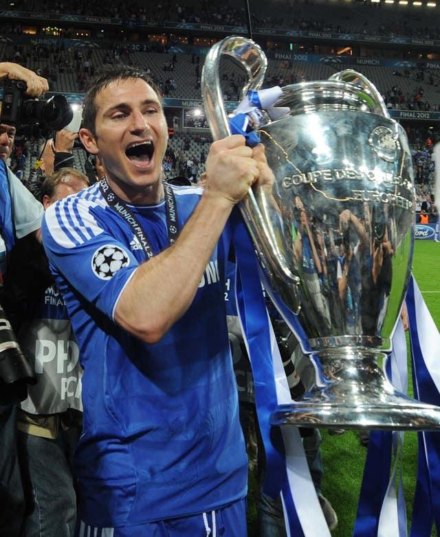Frank Lampard was a Champions League winner in 2012