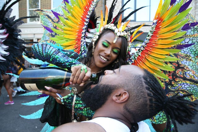 In Pictures: Notting Hill Carnival takes place in conditions