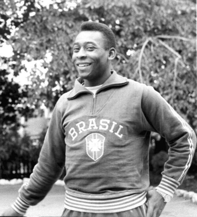 Pele won three World Cups with Brazil