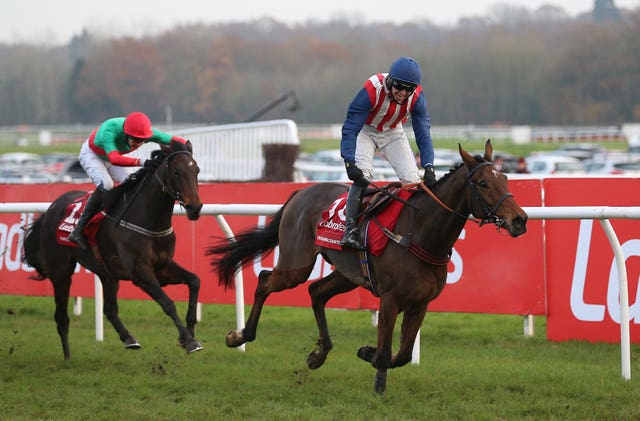 De Rasher Counter (right) provided Ben Jones with a big win in the race last year