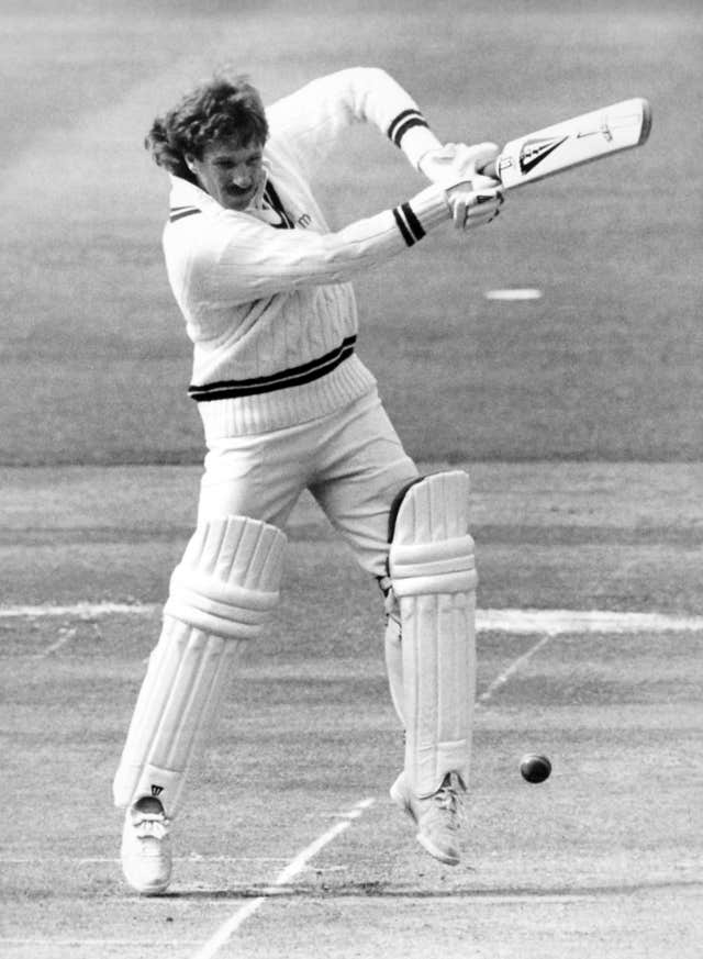 Cricket Ian Botham batting in his prime (PA)