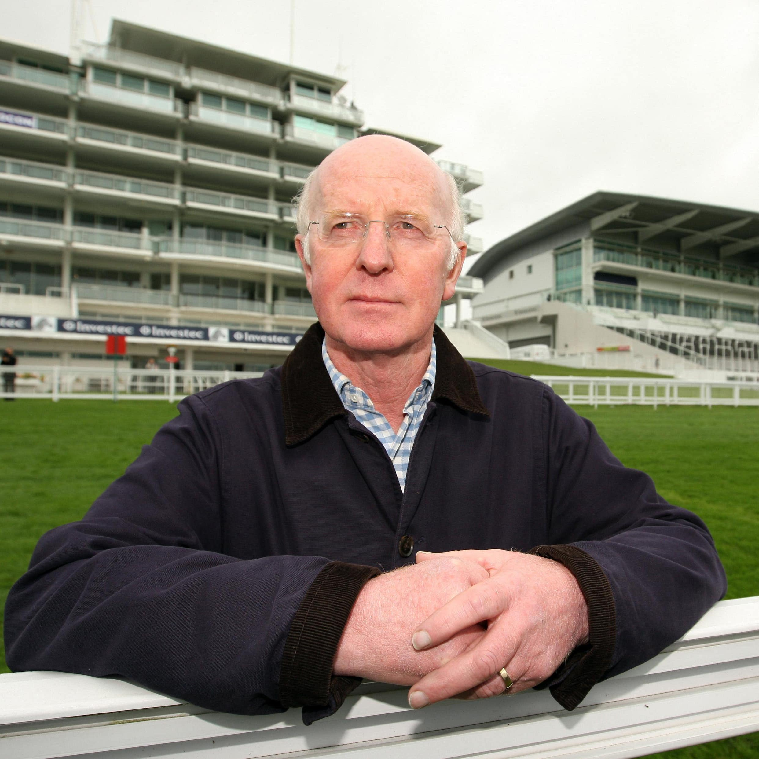 John Oxx, pictured at Epsom, where he has enjoyed much big-race success