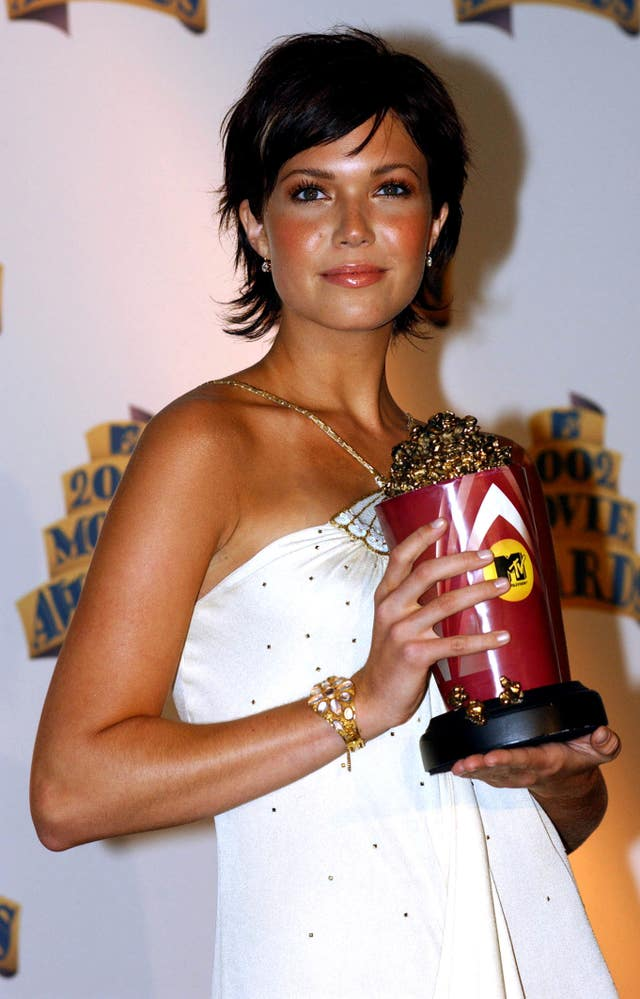 Mandy Moore at the 2002 MTV Movie Awards