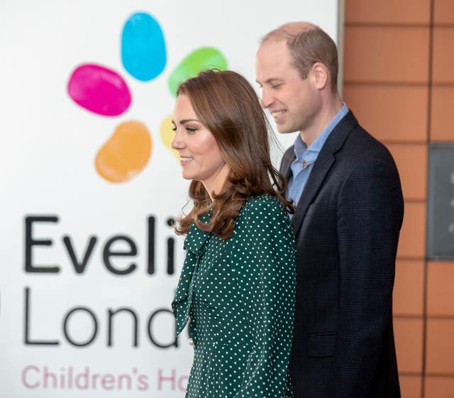 Royal visit to Evelina Children's Hospital and The Passage