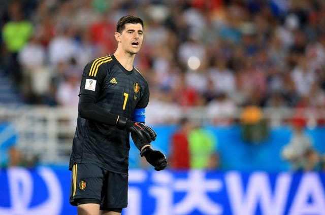 Thibaut Courtois has been ruled out of Sunday's match against Huesca (Adam Davy/PA).
