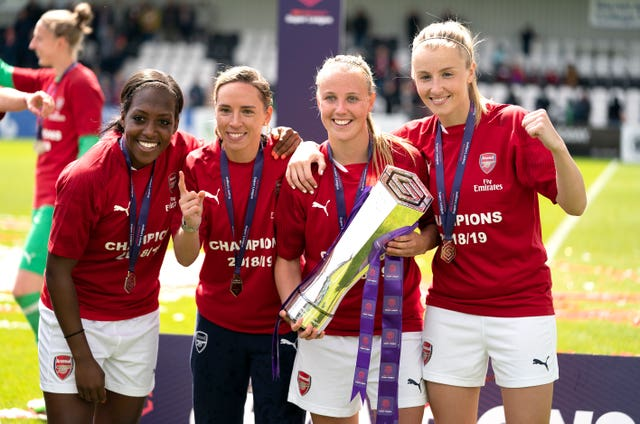 Arsenal Women v Manchester City Women – FA Women's Super League – Meadow Park