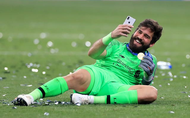 Alisson Becker helped Liverpool to Champions League final success over Tottenham.