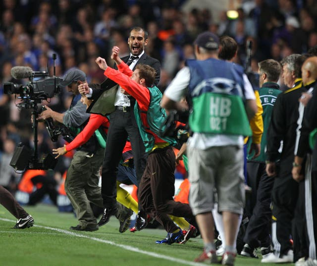 Guardiola enjoyed great success at the Nou Camp