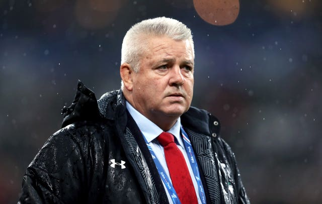 Wales head coach Warren Gatland will have to make do without Faletau