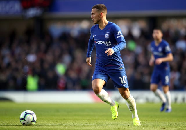Eden Hazard has been in sparkling form for Chelsea this season