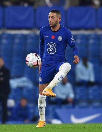 Hakim Ziyech (pictured) and Callum Hudson-Odoi are recovering from hamstring issues