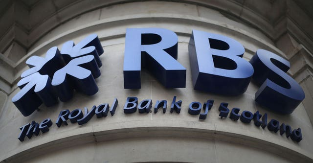 Photo of the RBS logo
