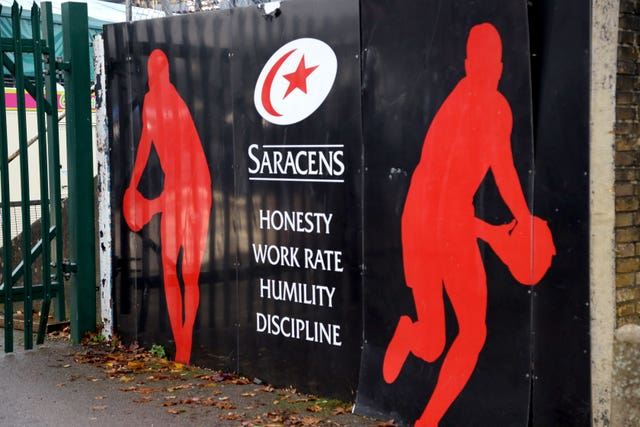 Saracens are set for life outside the top flight next season