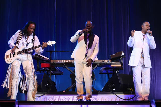 Earth, Wind and Fire in concert – London