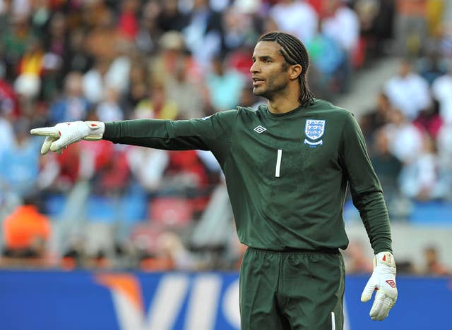 David James represented England at World Cup in South Africa