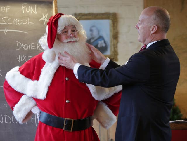 Ministry of Fun Santa School photocall