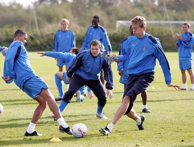 Jermaine Jenas, left, was an unused member of England's 2006 World Cup squad