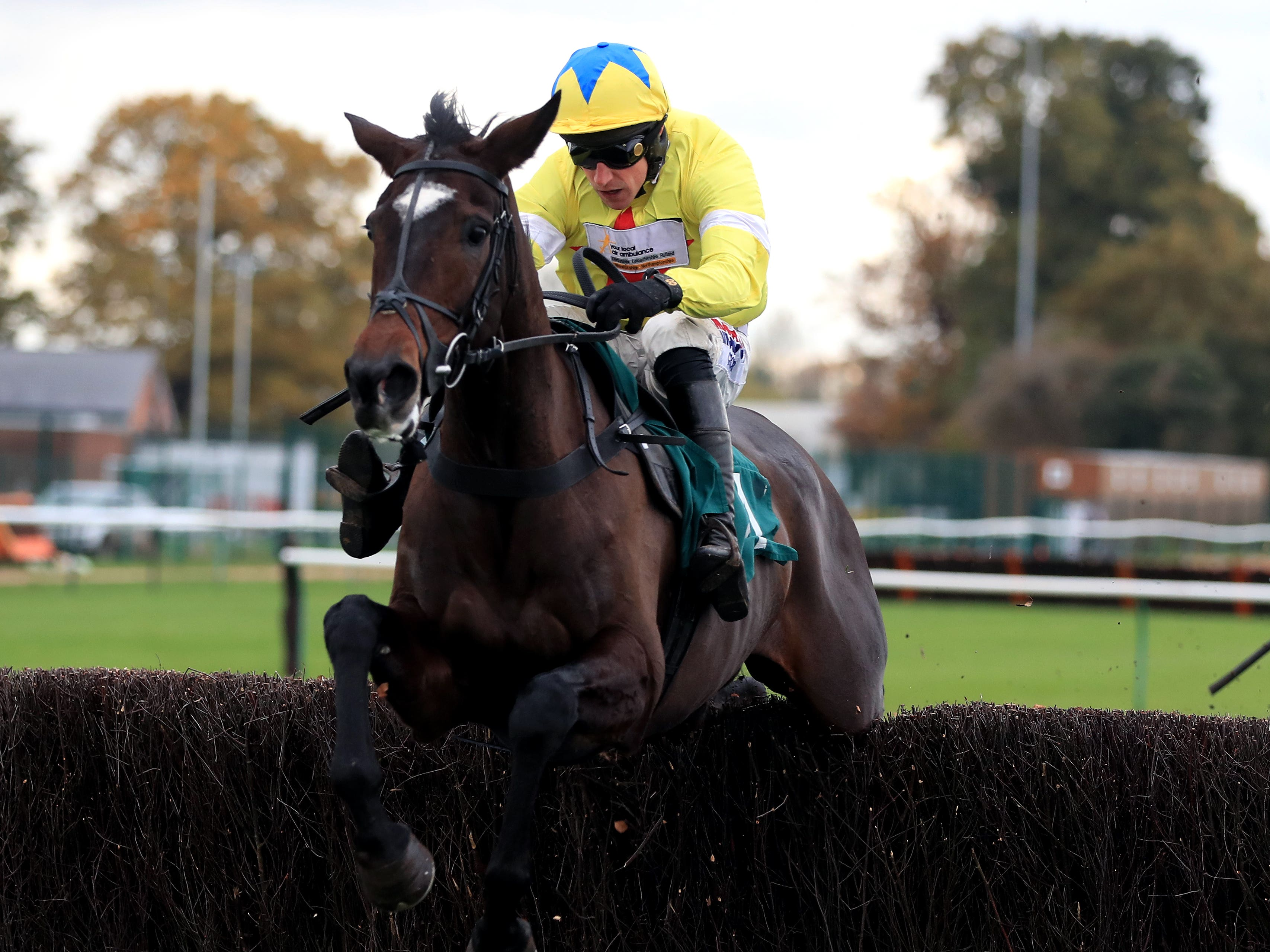 Maire Banrigh will take a step up to Listed level on her next start at Huntingdon (Mike Egerton/PA)