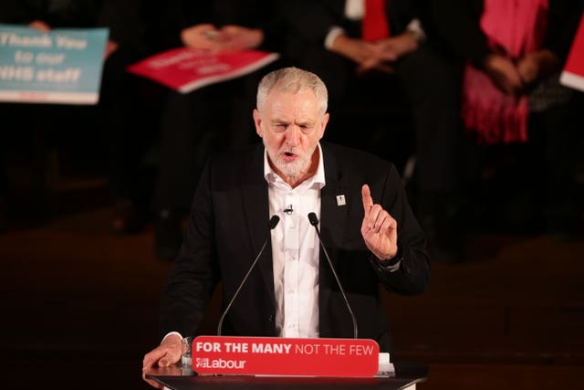 Supporters of the pro-Jeremy Corbyn Momentum campaign group have opposed the planned housing project (Yui Mok/PA)