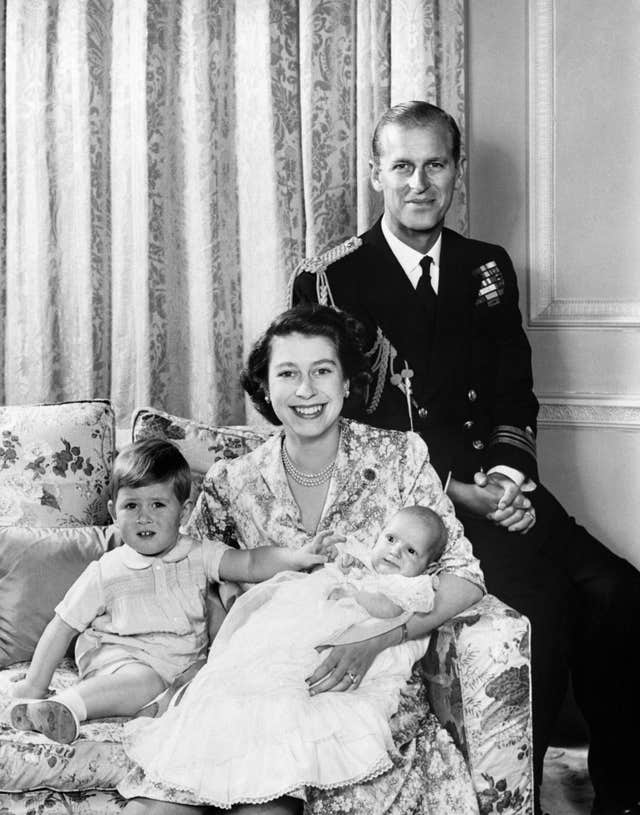 Princess Elizabeth and family