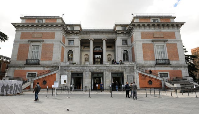 The Prado Museum in Madrid, Spain (Andrew Matthews/PA)