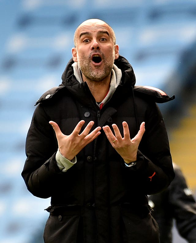 City boss Guardiola saluted his