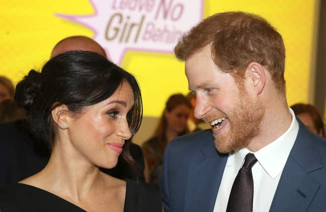 Prince Harry and Meghan Markle got engaged after a 16-month whirlwind romance (Chris Jackson/PA)