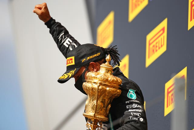 Lewis Hamilton won this year's British Grand Prix held without spectators