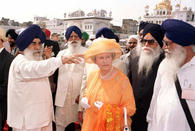 The Queen in India