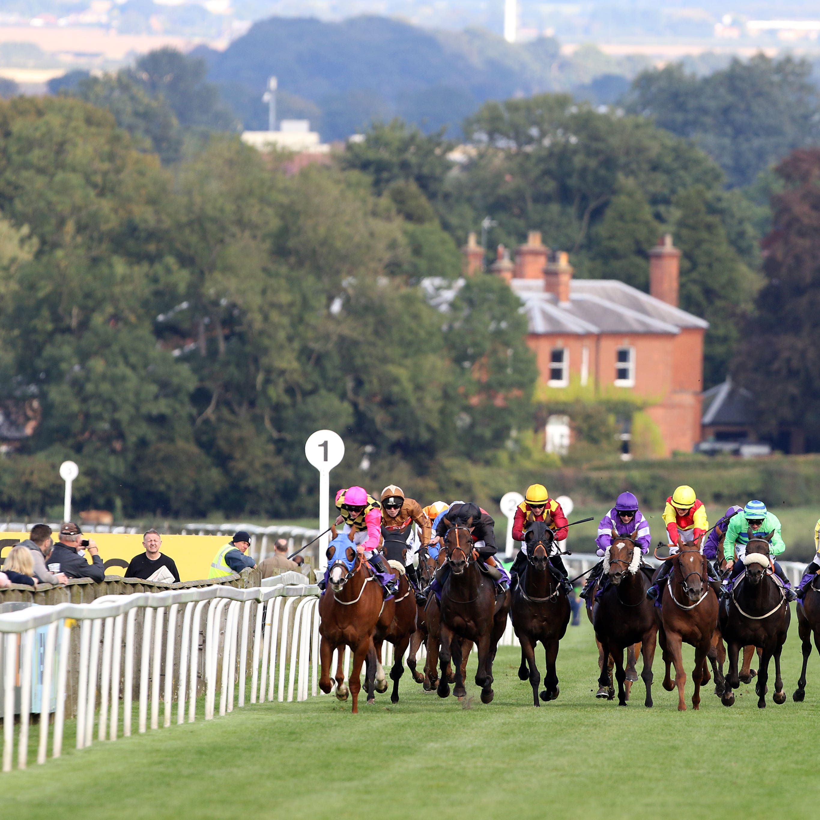 Beverley Racecourse (Richard Sellers/PA)