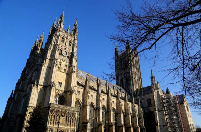 Canterbury Cathedral Christmas Day Service