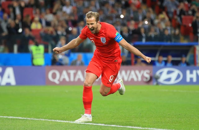 Kane scored six goals as England finished reached the World Cup semi-finals.