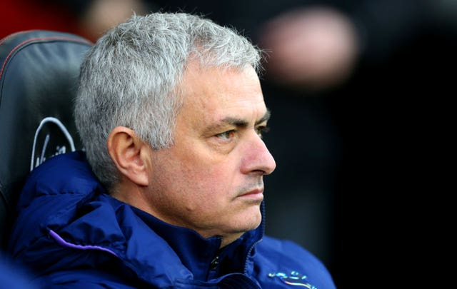 Tottenham, managed by Jose Mourinho, sit seven points adrift of fourth-placed Chelsea in the battle for Champions League qualification