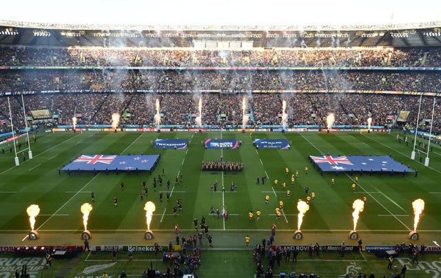Twickenham hosted the 2015 World Cup final (Andrew Matthews/PA)