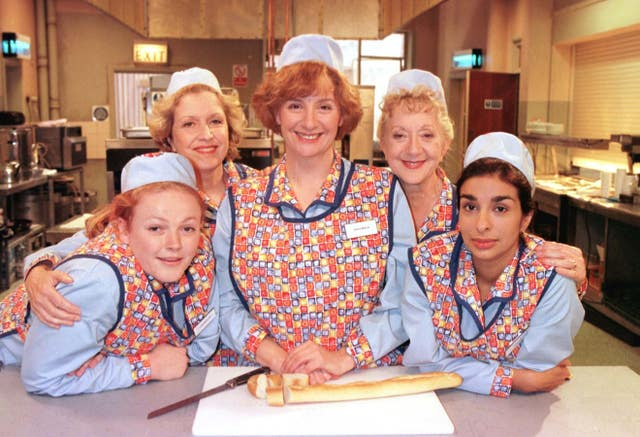 BBC ONE – TALKED ABOUT TELEVISION dinnerladies