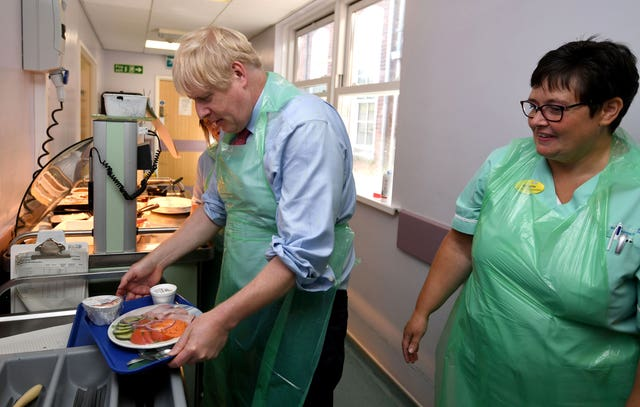 Boris Johnson visits Devon