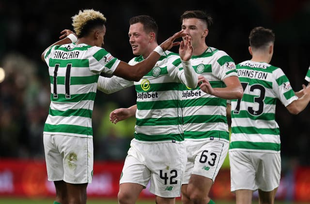Celtic eased through to the group stage