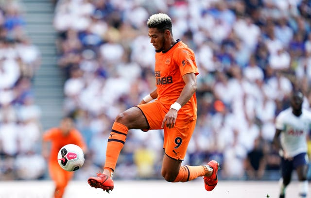 Joelinton was signed in a club-record deal