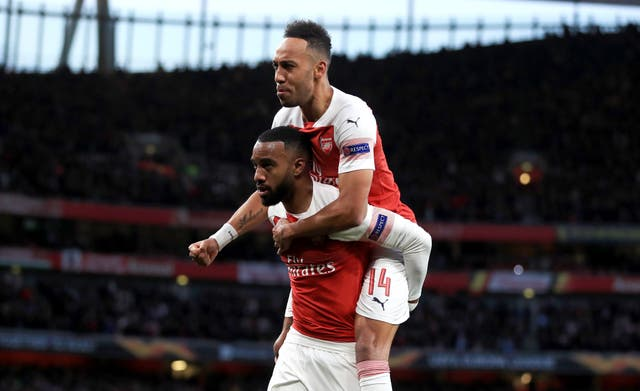 Alexandre Lacazette and Pierre-Emerick Aubameyang have formed an impressive partnership