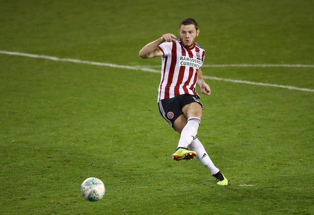 Sheffield United's Jack O'Connell was targeted with objects thrown from the crowd against Sheffield Wednesday