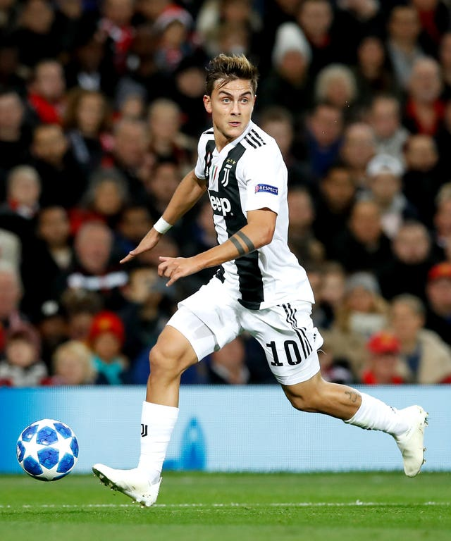 Paulo Dybala File Photo