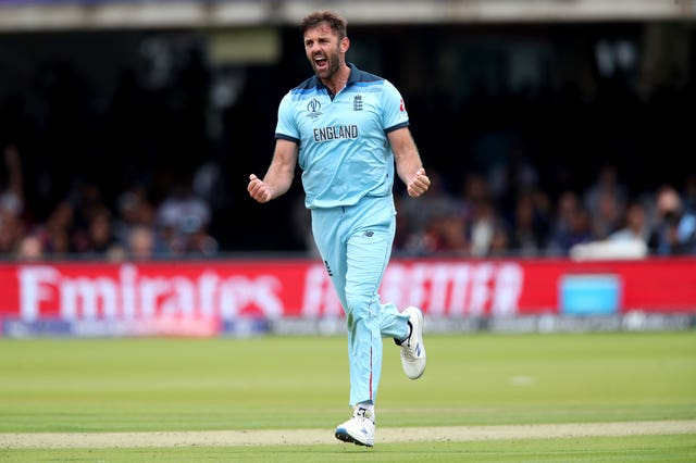 Liam Plunkett claimed the wicket of Kane Williamson