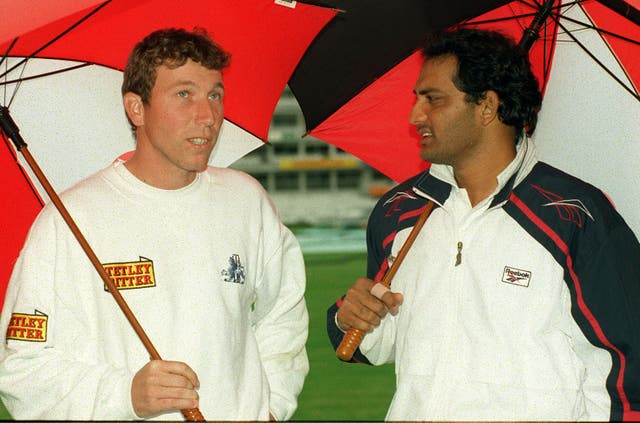 Mohammad Azharuddin faced Michael Atherton's England in 2000