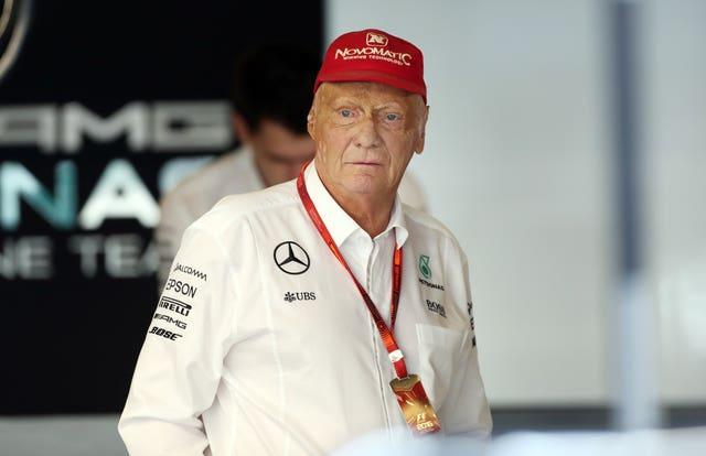 Niki Lauda recovered from life-threatening injuries following a crash at Nurburgring