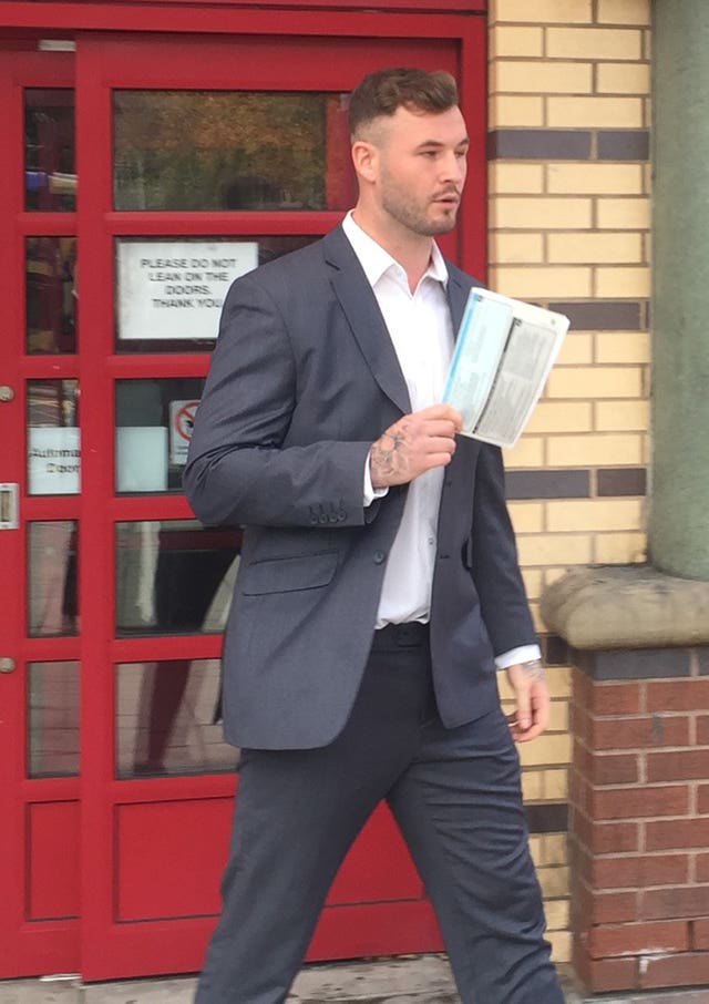 Zak Hardaker was in court last week