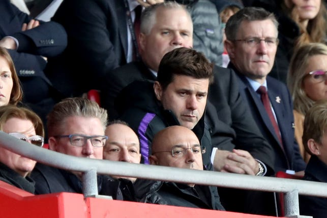 Pochettino insists his relationship with Tottenham chairman Daniel Levy is a good one