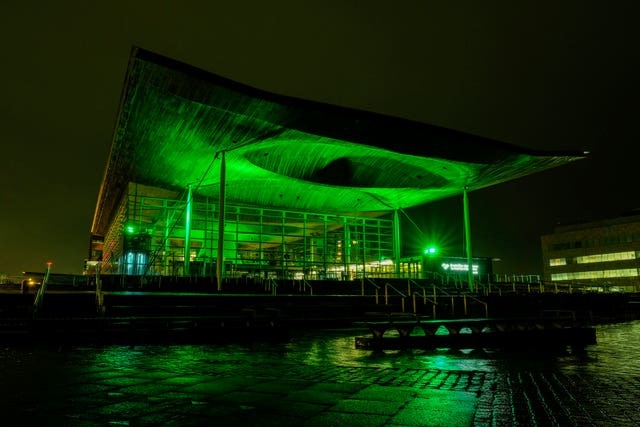 The Senedd, home to the National Assembly for Wales in Cardiff